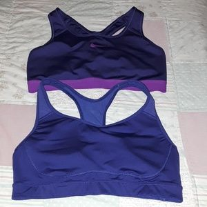 Nike and old navy sport bra